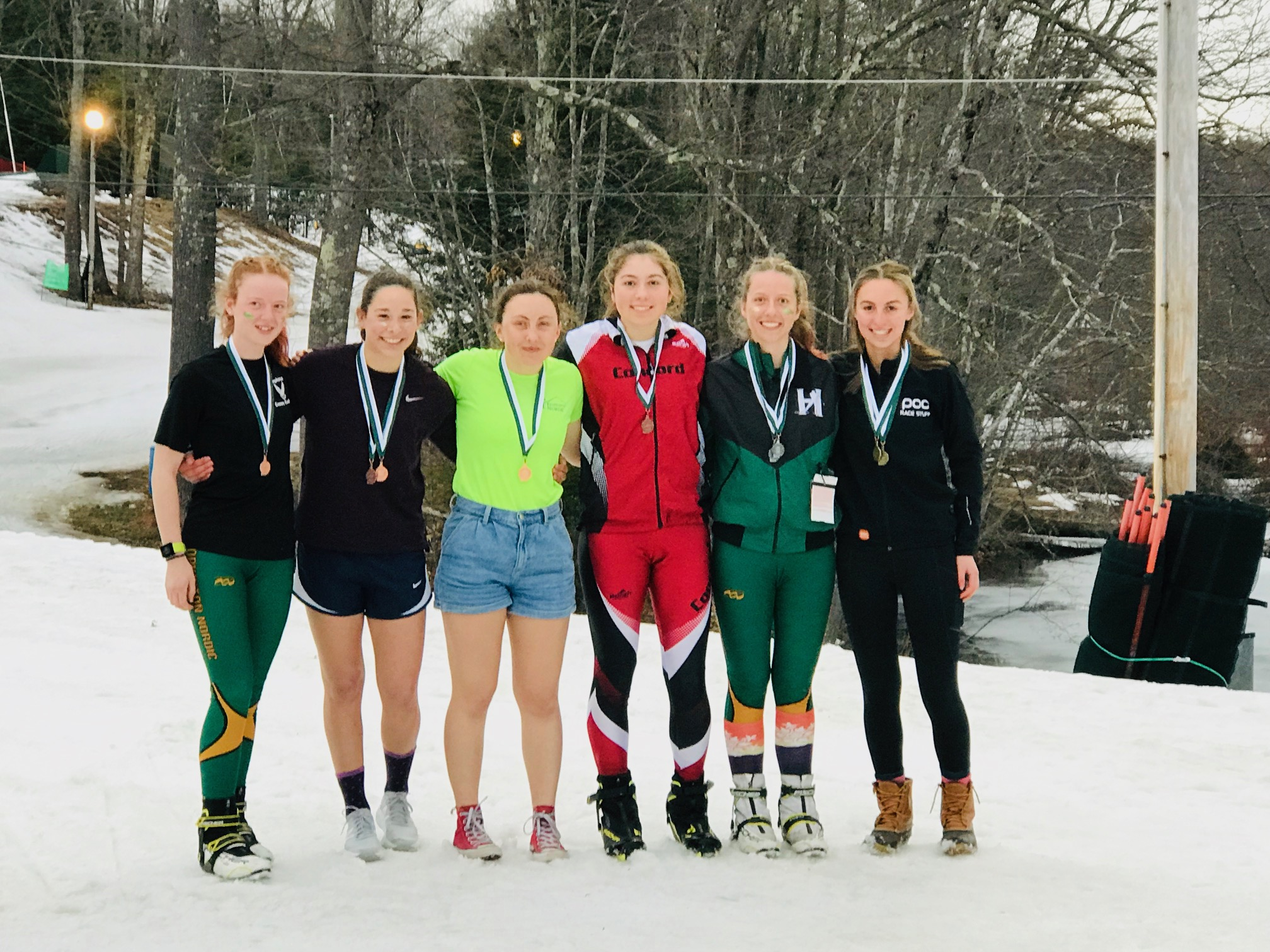 2020 Girls Podium