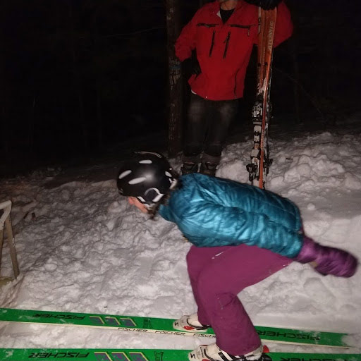 GNA Ski Jump with Lisa