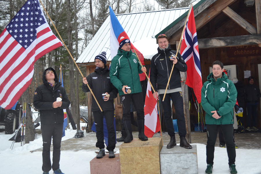 Gunstock Freestyle Race Podium
