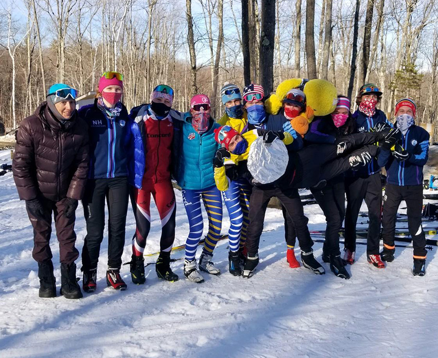 GNA Skiers after the Eastern HS championship in Dublin